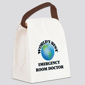 World's Best Emergency Room Docto Canvas Lunch Bag