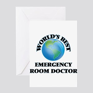 Emergency room doctor greeting cards cafepress worlds best emergency room doctor greeting cards m4hsunfo