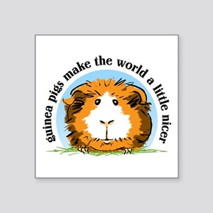 Guinea Pigs Make The World... Sticker