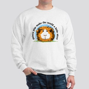 Guinea pigs make the world... Sweatshirt