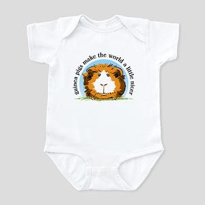 Guinea pigs make the world... Infant Bodysuit