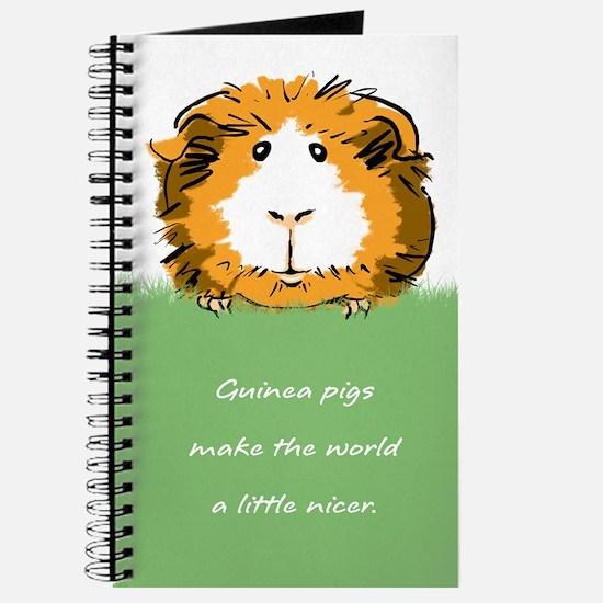 Guinea pigs make the world a little nicer Journal