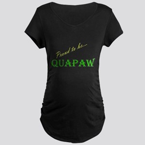 Quapaw Maternity Dark T-Shirt