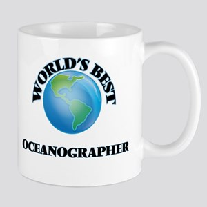 World's Best Oceanographer Mugs