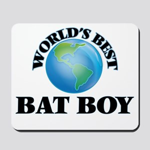 World's Best Bat Boy Mousepad