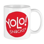 Yolo! Snacks Logo Mugs