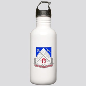 1-87 Infantry Unit Cre Stainless Water Bottle 1.0L