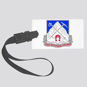 1-87 Infantry Unit Crest Large Luggage Tag
