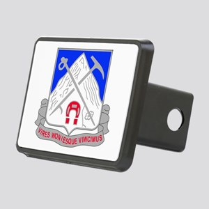1-87 Infantry Unit Crest.p Rectangular Hitch Cover