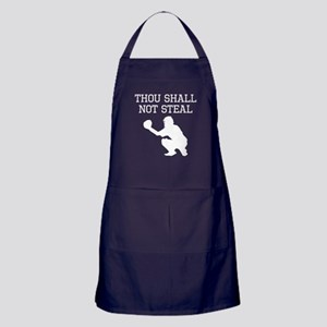 Thou Shall Not Steal Apron (dark)