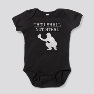 Thou Shall Not Steal Baby Bodysuit