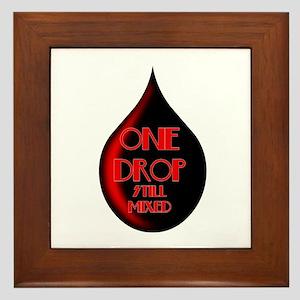 One Drop Framed Tile