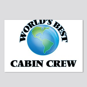 World's Best Cabin Crew Postcards (Package of 8)