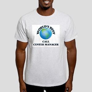 World's Best Call Center Manager T-Shirt