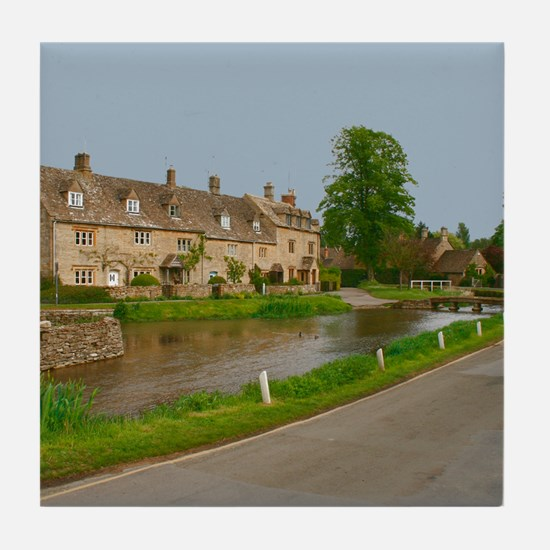 Lower Slaughter Tile Coaster