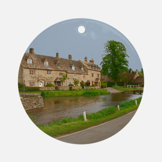 Lower Slaughter Ornament (Round)