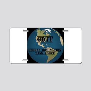 GDTF Aluminum License Plate