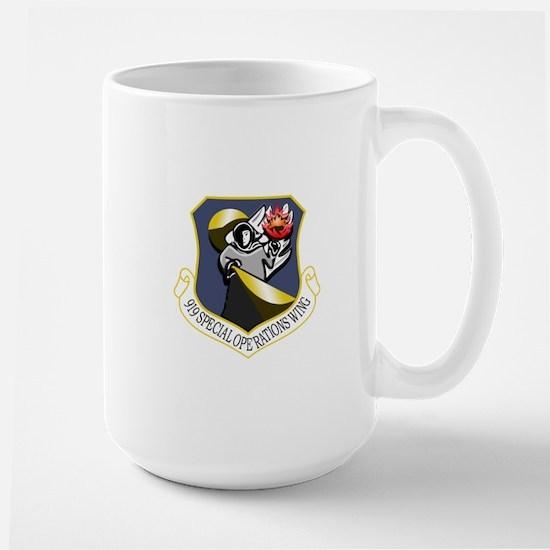 919th SOW.psd Mugs