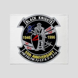 VF-154 anniversary Throw Blanket