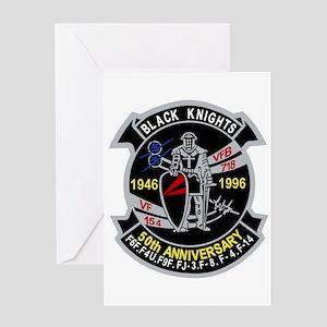 VF-154 anniversary Greeting Cards