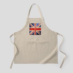 Grungy UK flag Apron