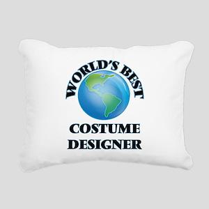 World's Best Costume Des Rectangular Canvas Pillow