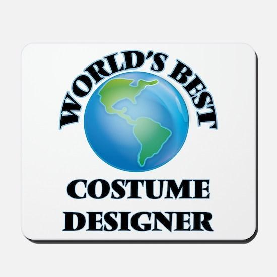 World's Best Costume Designer Mousepad