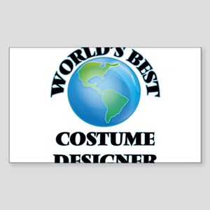 World's Best Costume Designer Sticker