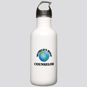 World's Best Counselor Stainless Water Bottle 1.0L