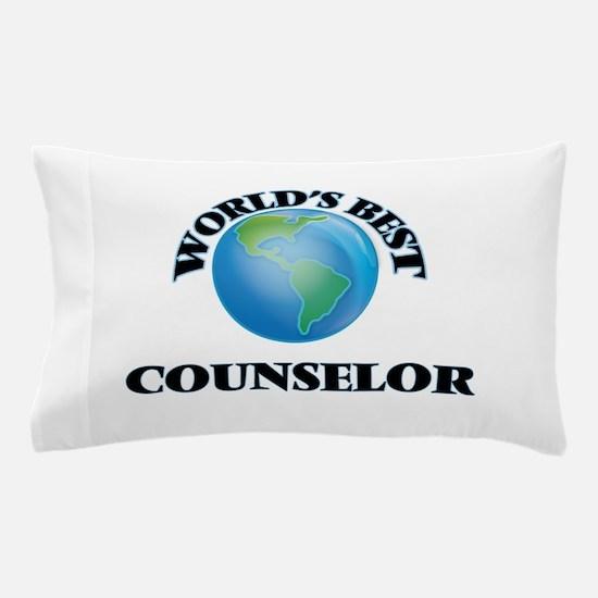 World's Best Counselor Pillow Case