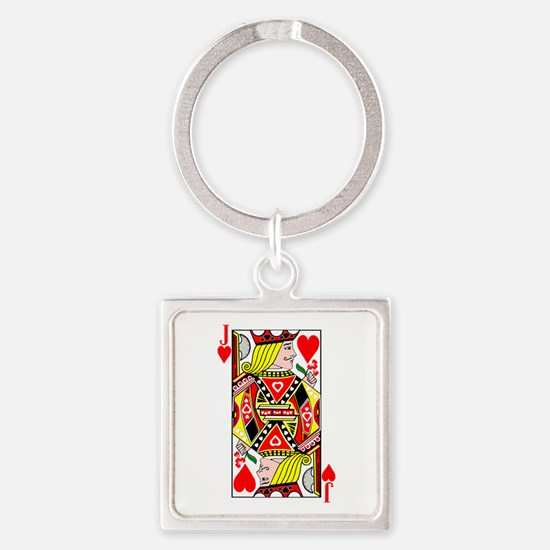 Jack of Hearts Keychains