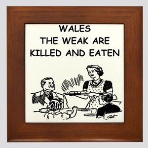 wales Framed Tile