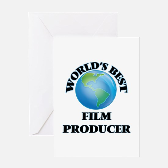 World's Best Film Producer Greeting Cards