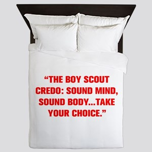 THE BOY SCOUT CREDO SOUND MIND SOUND BODY TAKE YOU