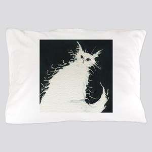 Anchorage White Cat Pillow Case