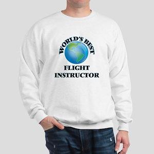 World's Best Flight Instructor Sweatshirt