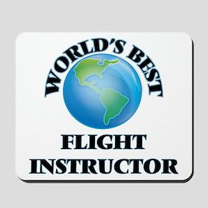 World's Best Flight Instructor Mousepad