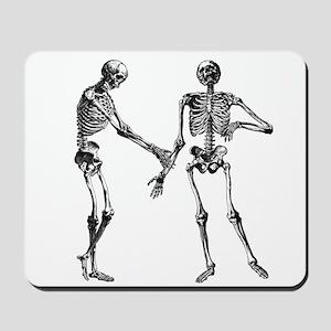 Laughing Skeletons Mousepad