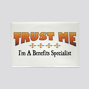 Trust Benefits Specialist Rectangle Magnet