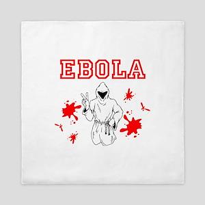 Ebola Queen Duvet
