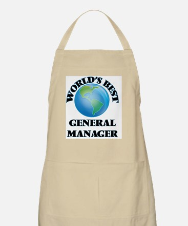 World's Best General Manager Apron