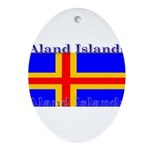 Aland Islands Ornament (Oval)