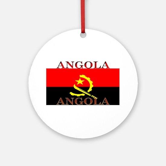 Angola.jpg Ornament (Round)