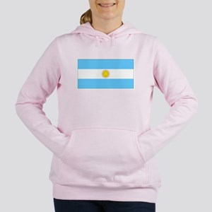 Argentinablank Women's Hooded Sweatshirt