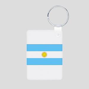 Argentinablank Aluminum Photo Keychain
