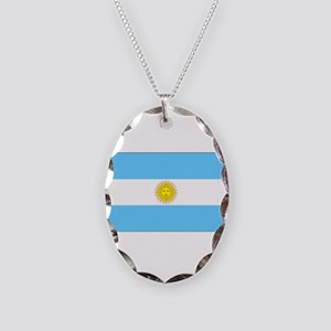 Argentinablank Necklace Oval Charm