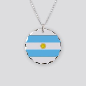 Argentinablank Necklace Circle Charm