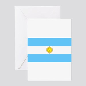 Argentinablank Greeting Card
