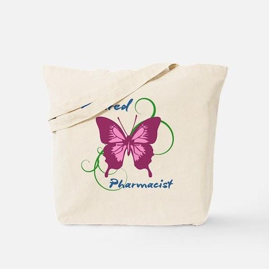 Retired Pharmacist (Butterfly) Tote Bag