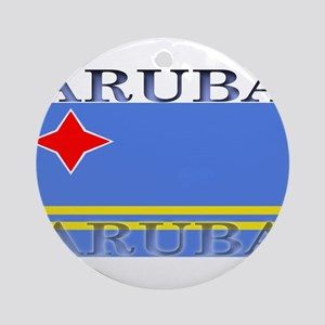 Aruba Ornament (Round)